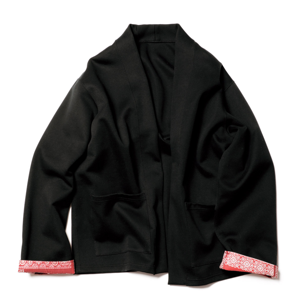 SOPHNET. / TECH KNIT CARDIGAN (Black)正面