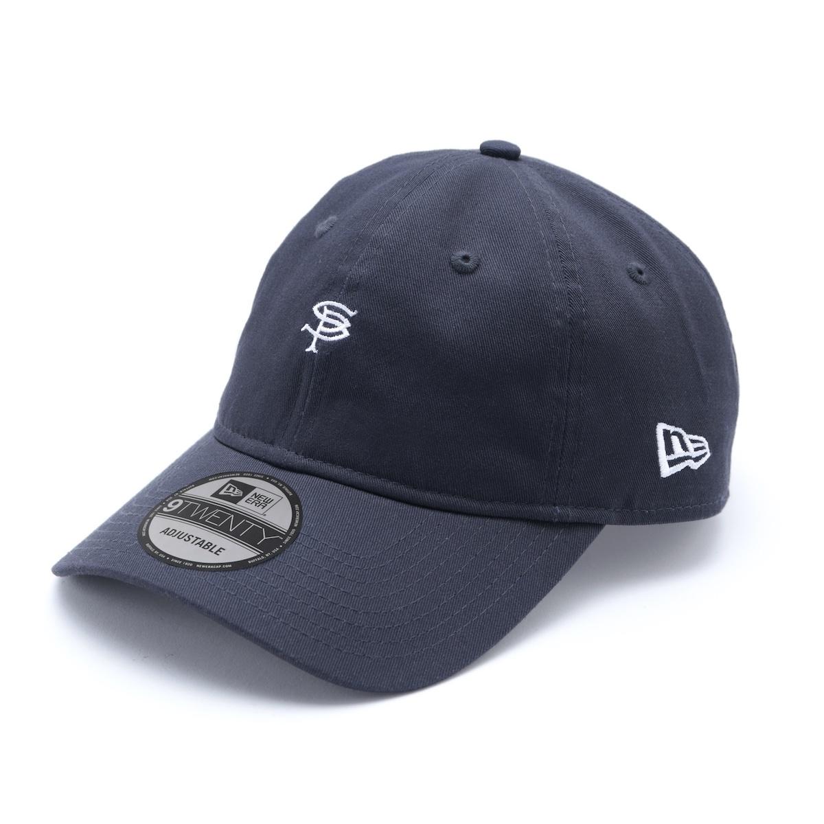 SOPHNET. / NEW ERA SP LOGO 9TWENTY CAP (Navy)
