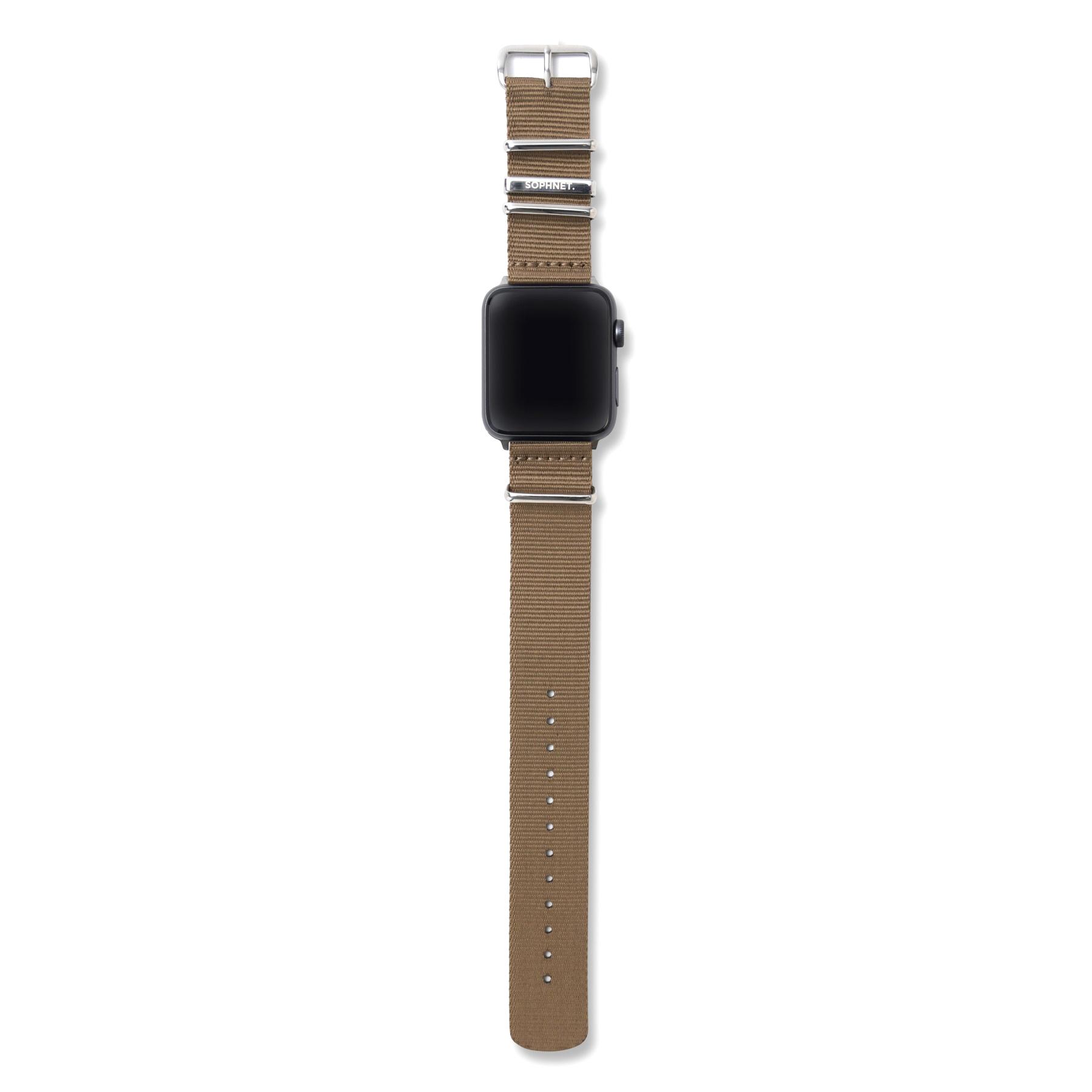 SOPHNET. / WATCH BAND for Apple Watch (Beige)