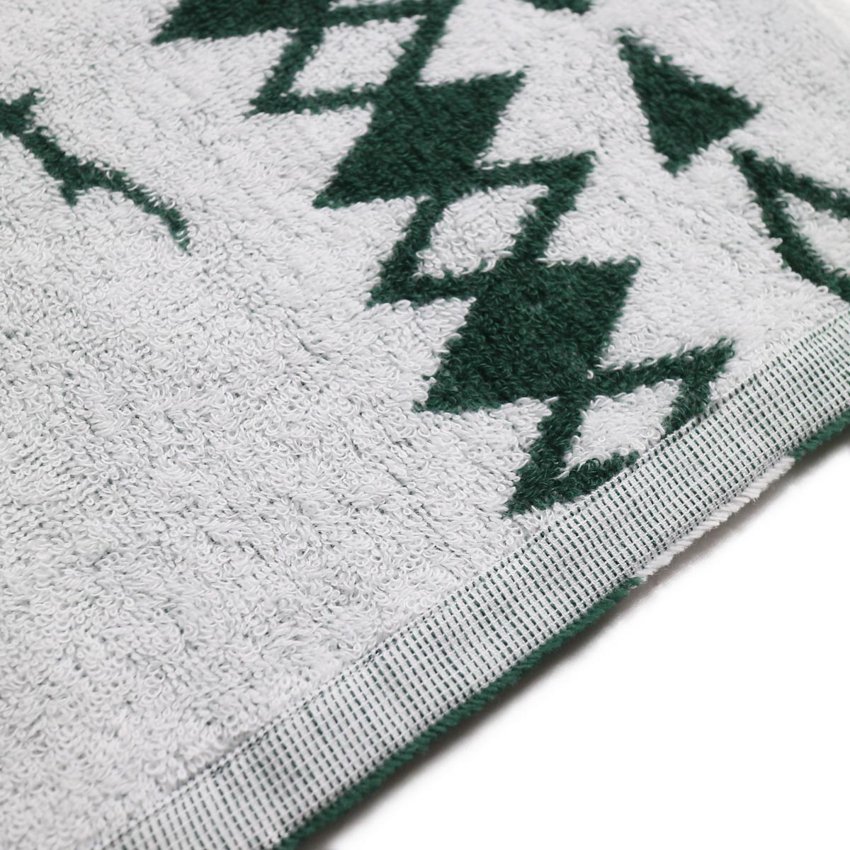 South2 West8 / Face Towel -Cotton Jacquard (Target & Skull) 裏面