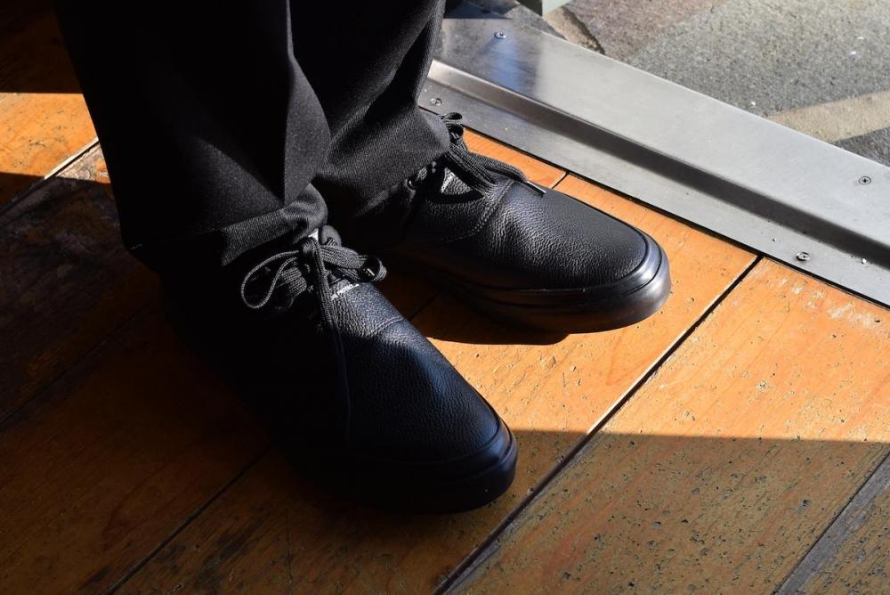 SPECTUSSHOECO. / Solid Kicks 07 -Black(SSC1912004) 着用(2)