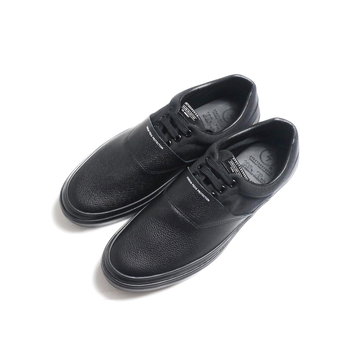 SPECTUSSHOECO. / Solid Kicks 07 -Black(SSC1912004) 正面