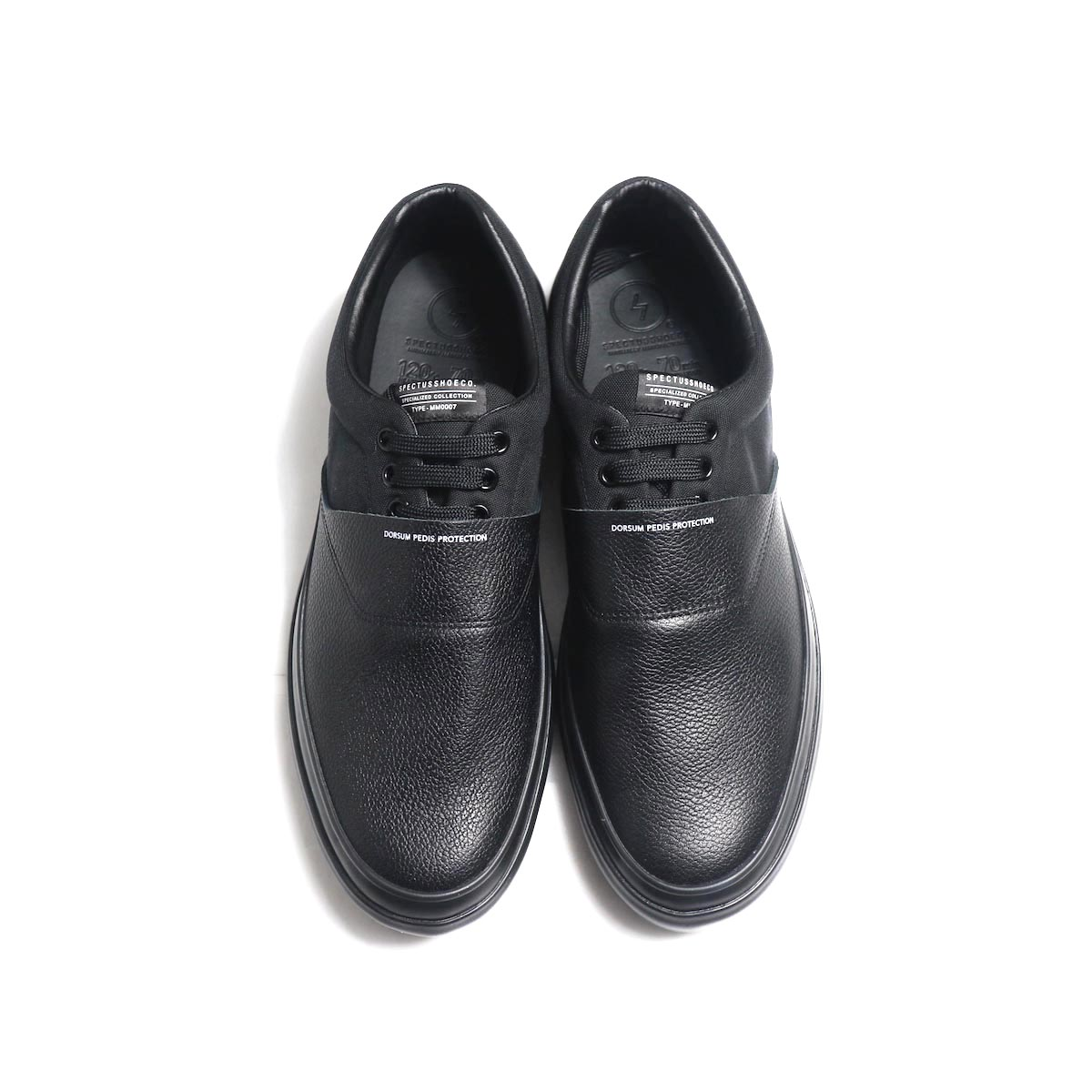 SPECTUSSHOECO. / Solid Kicks 07 -Black(SSC1912004) 正面