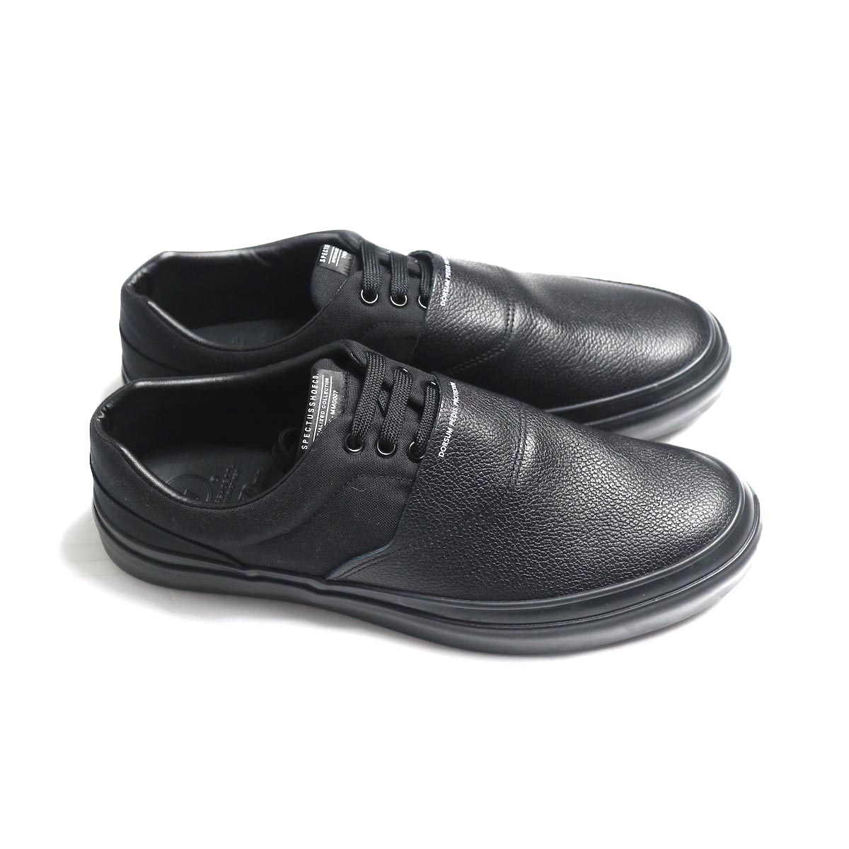SPECTUSSHOECO. / Solid Kicks 07 -Black(SSC1912004) サイド