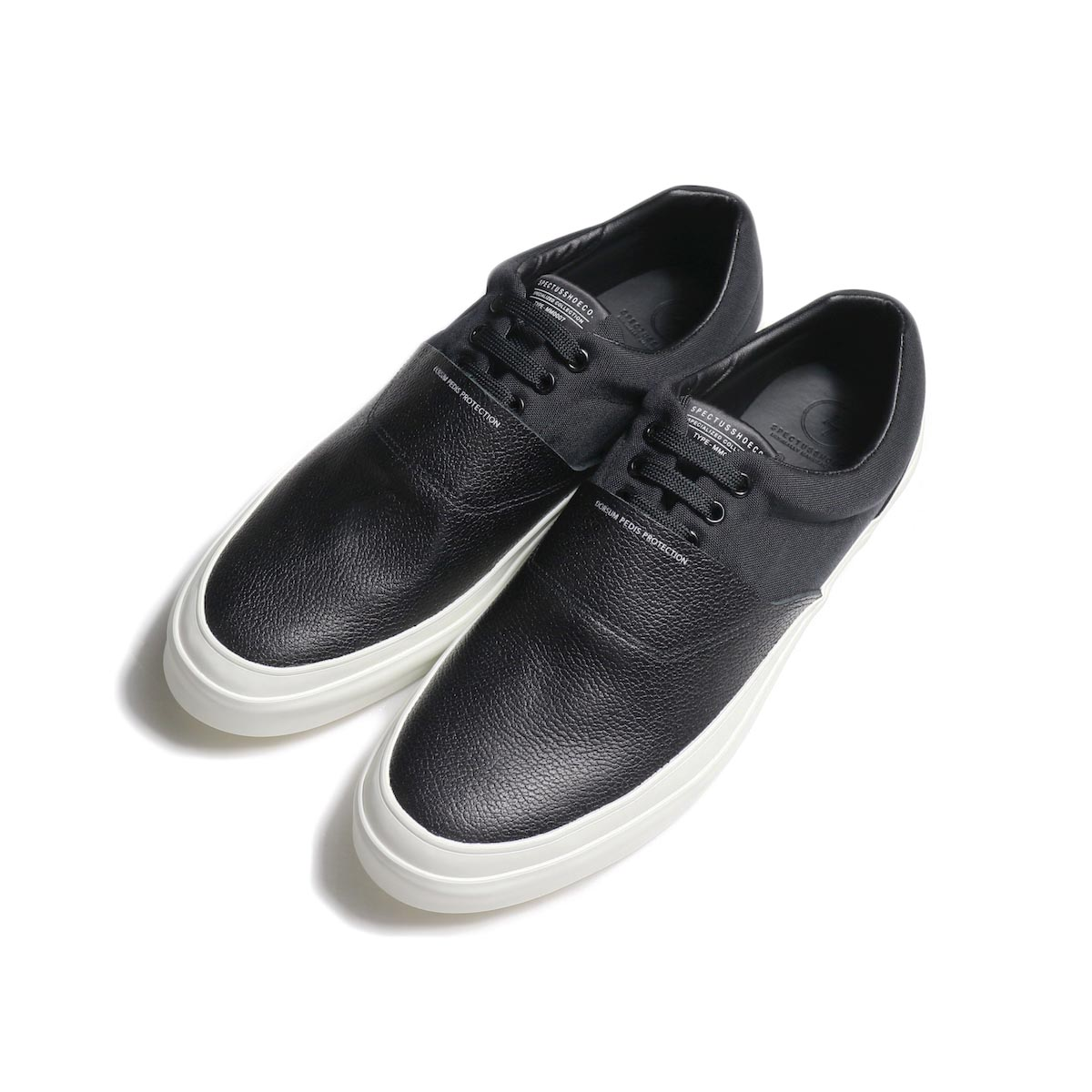 SPECTUSSHOECO. / SOLID KICKS 07 (Black×White)
