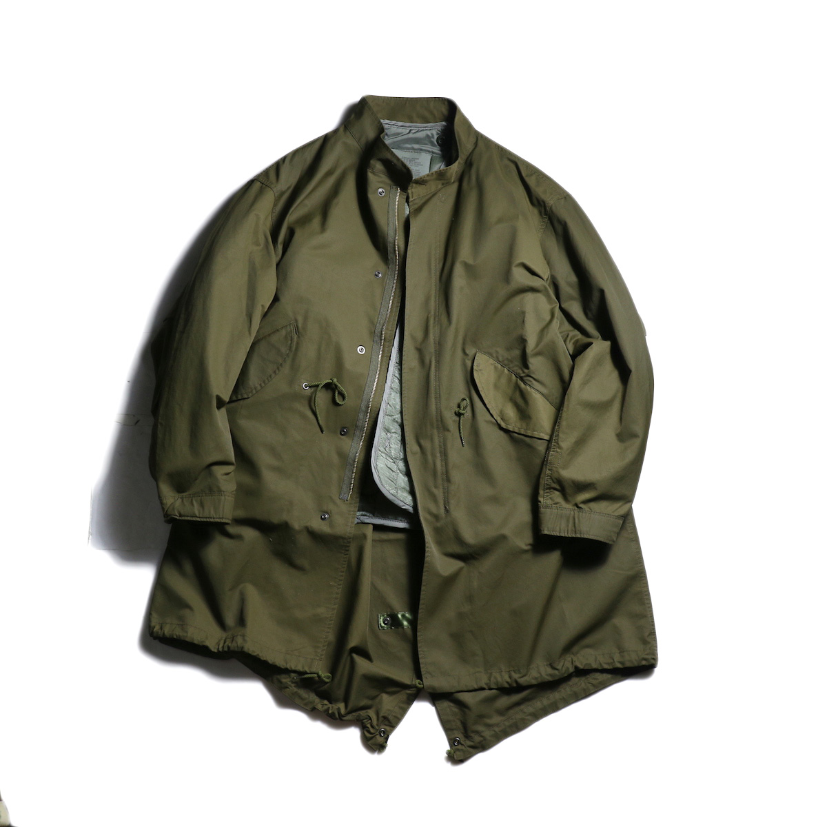 sunny sports / M65 fishtail parka (Olive)