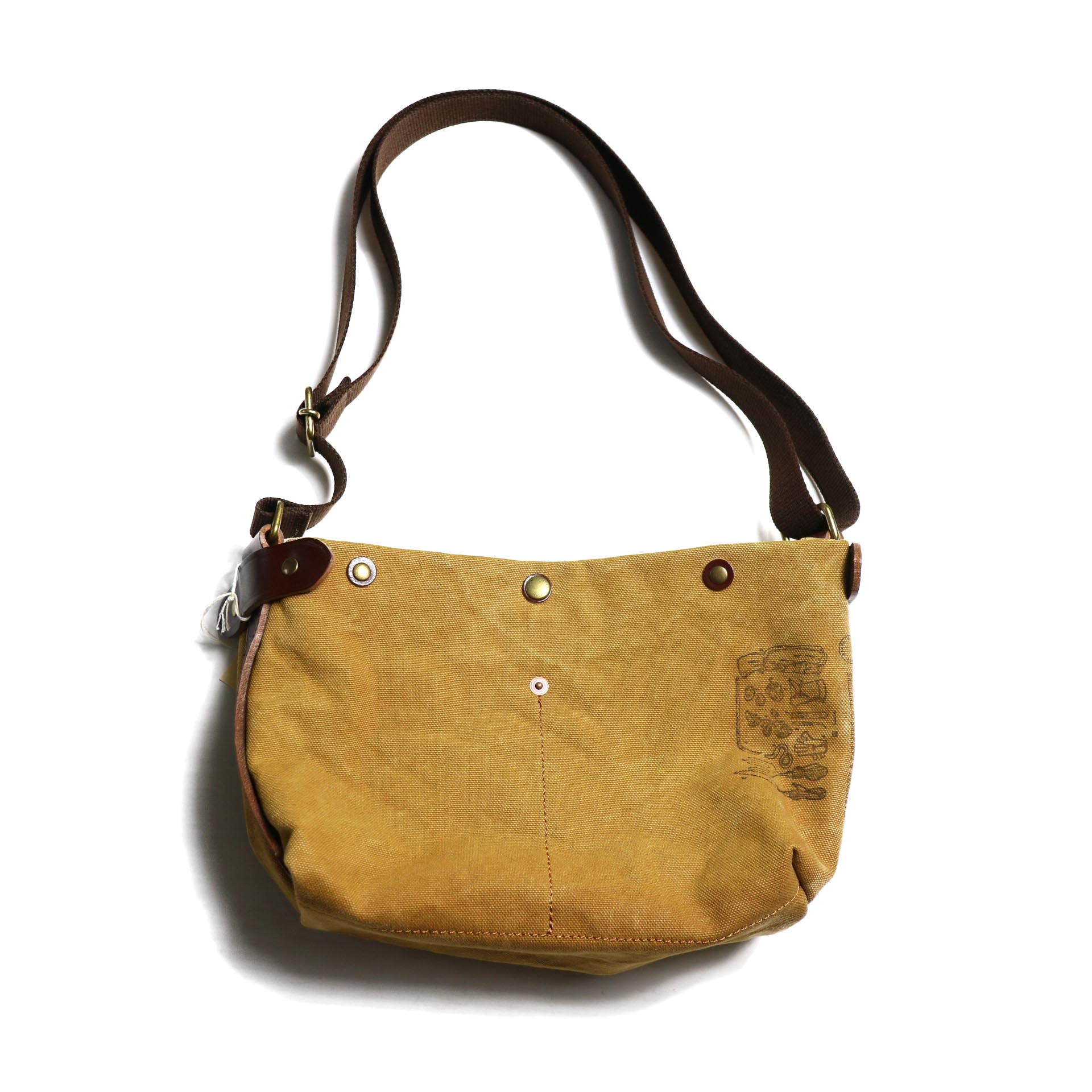 "Suolo / SHOULDER BAG ""KID"" -GOLD"