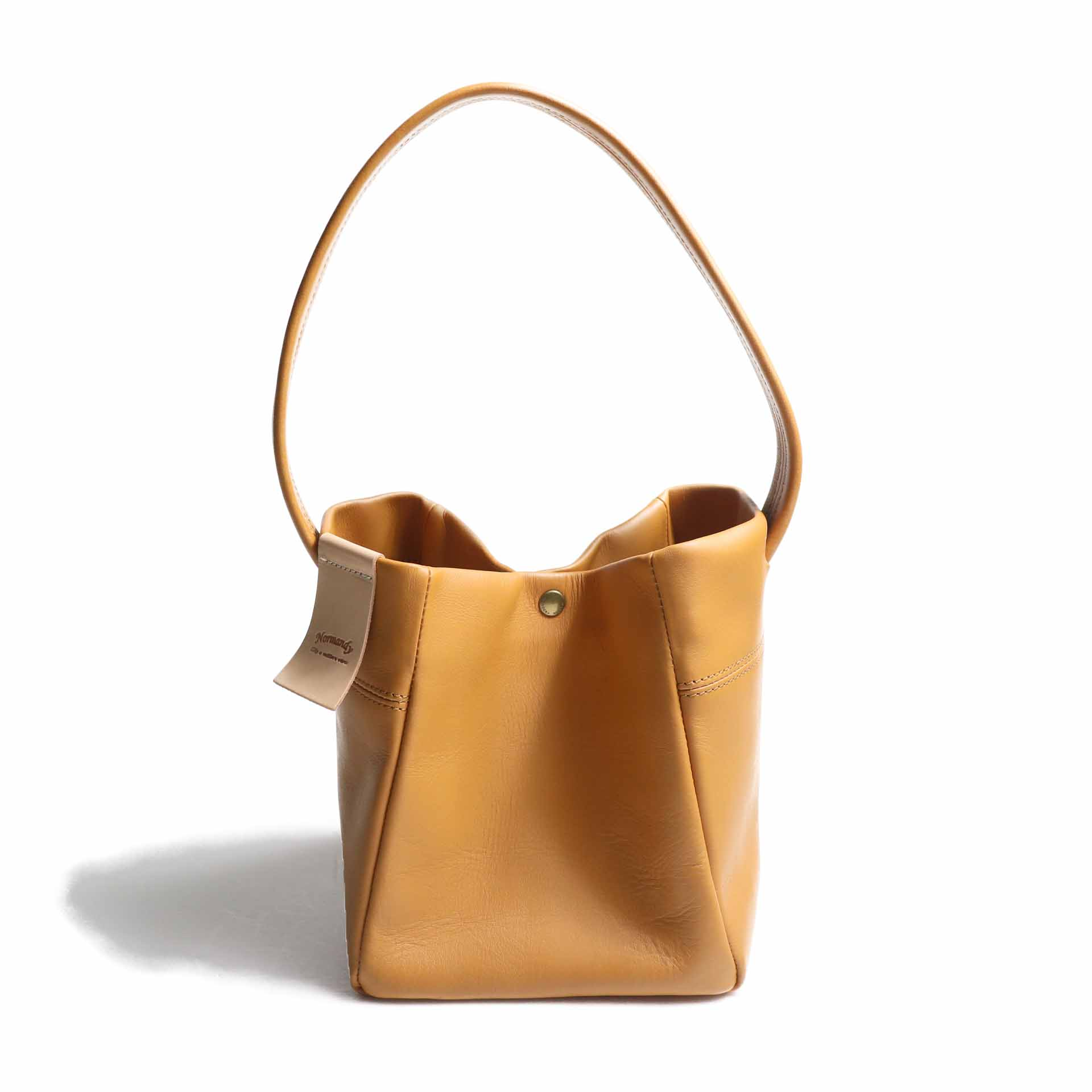 "Suolo / Hand Bag ""PRAY"" -Camel"