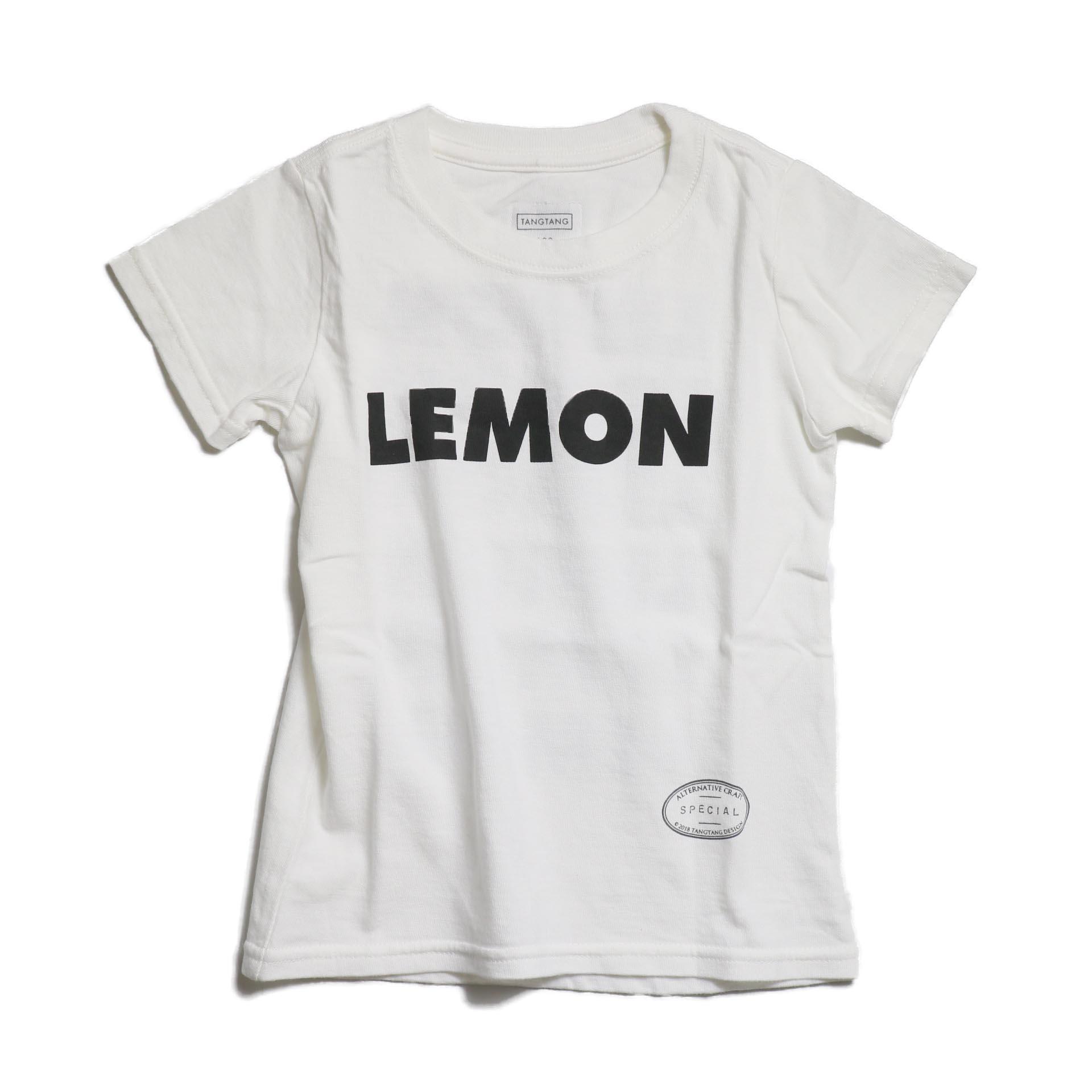 """TANGTANG / AIN'T KIDS """"LEMON"""" -WHITE"""