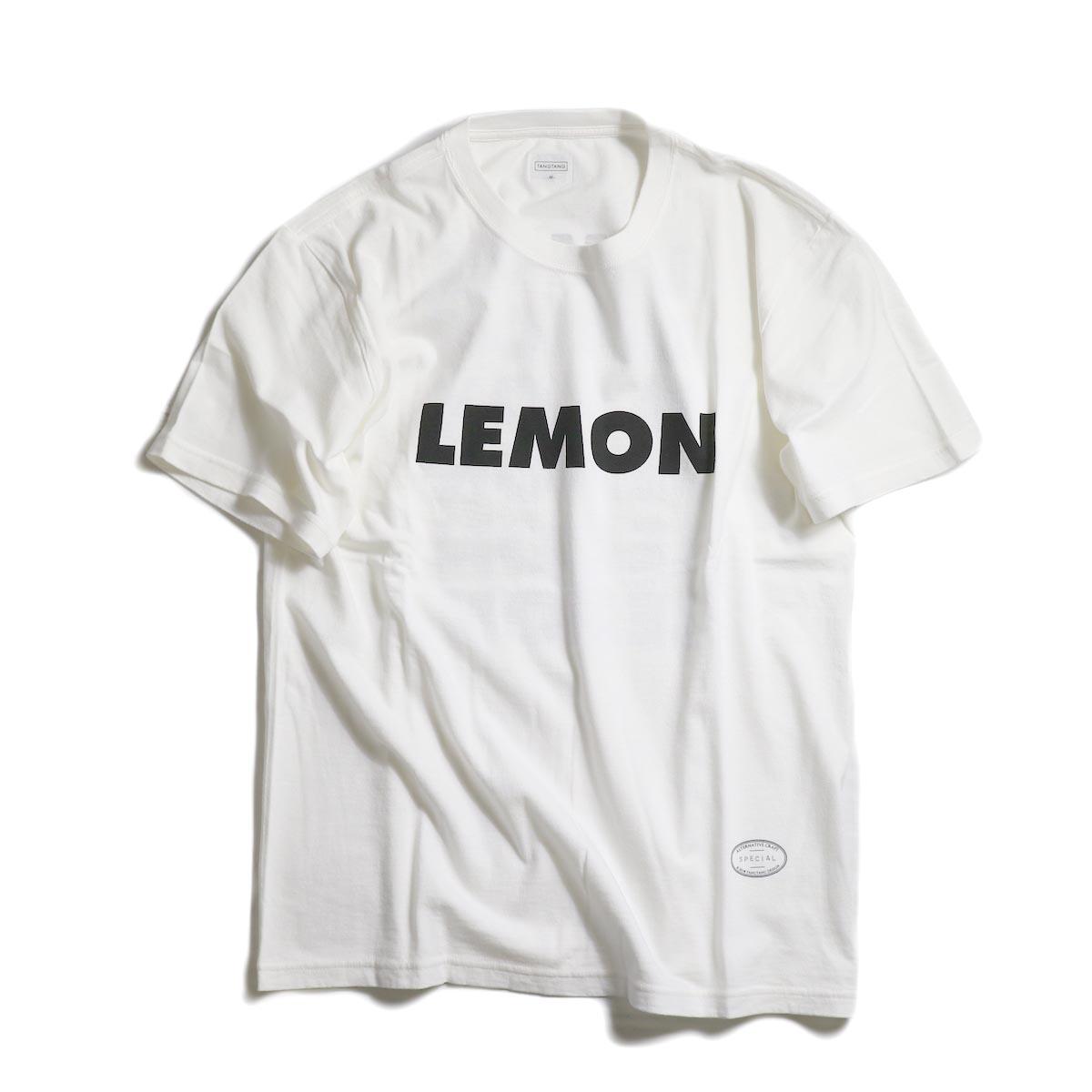 """TANGTANG / AIN'T """"LEMON"""" -WHITE"""