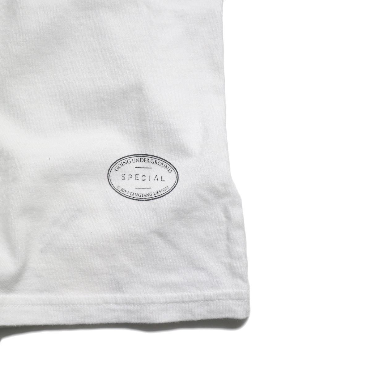 """TANGTANG / POPS/KIDS """"SWEET"""" (White) 裾ロゴ"""