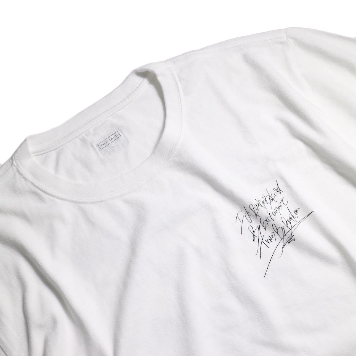 TANGTANG / SLOGAN - CHiTTiii (White)胸ロゴ