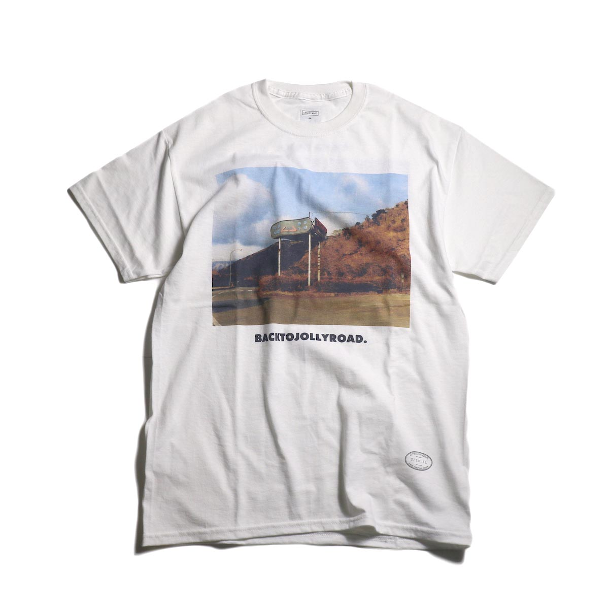 TANGTANG / GASATANA -BACKTOJOLLYROAD (White)