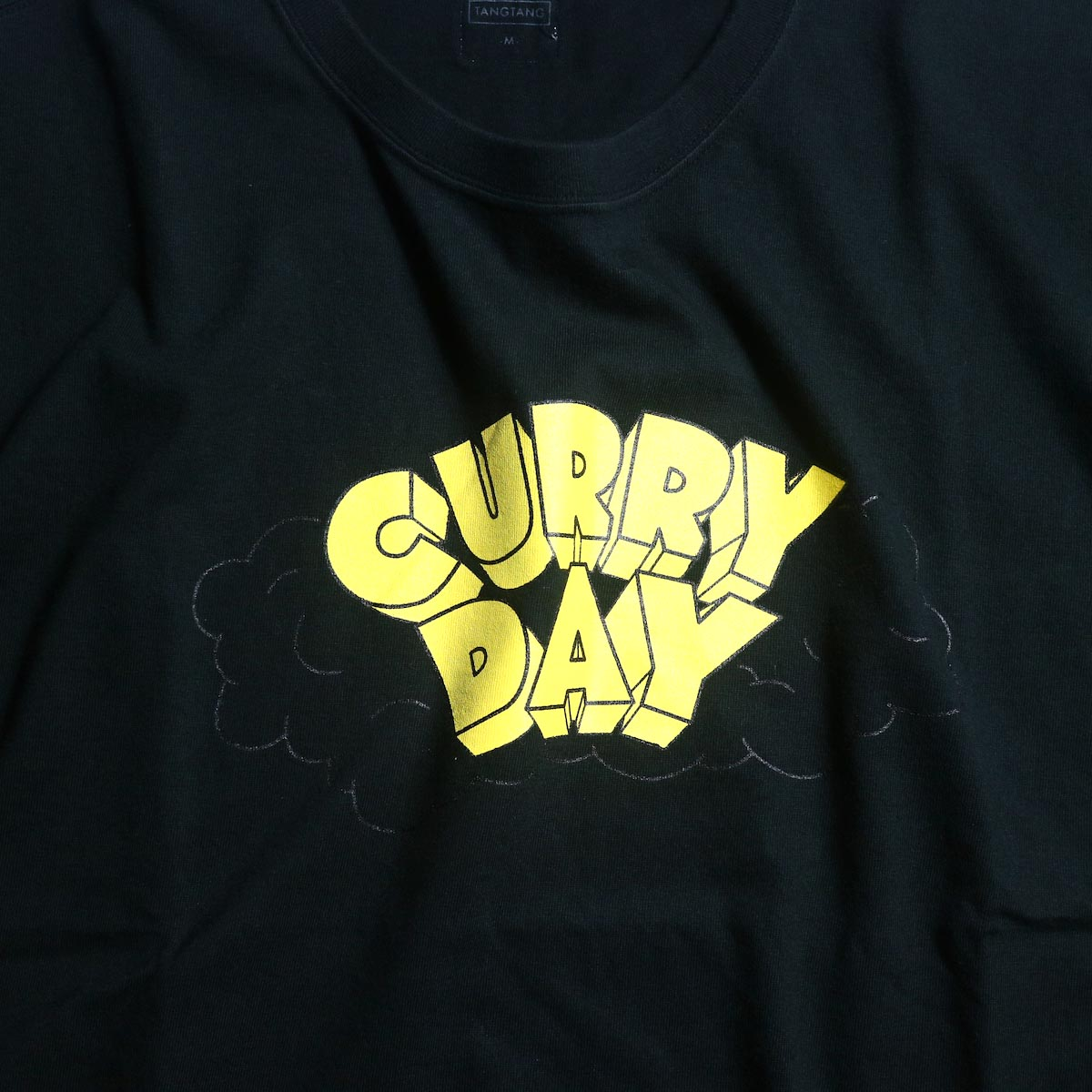 TANGTANG / CURRY -DAY (Black)ロゴ