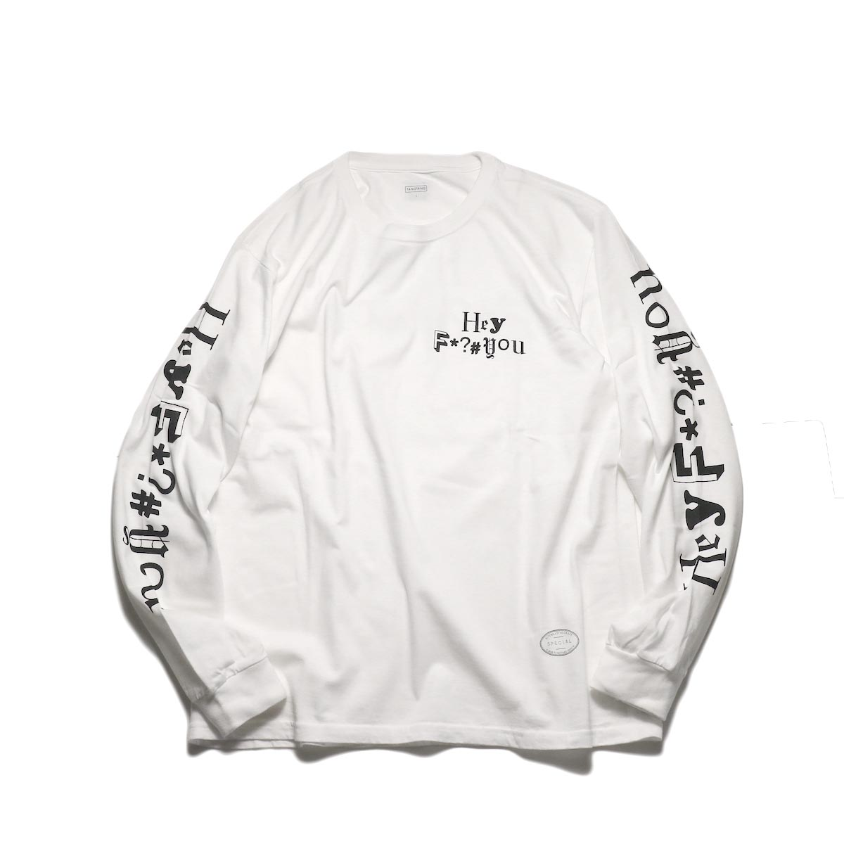 TANGTANG / F*?#you -AW2020 (White)正面