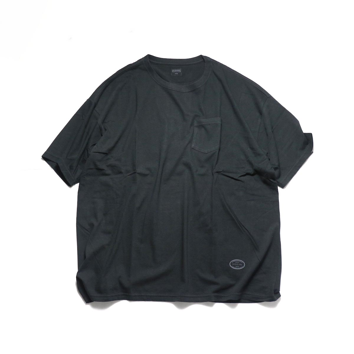 TANGTANG / POCKET -OVERSIZE (Black)