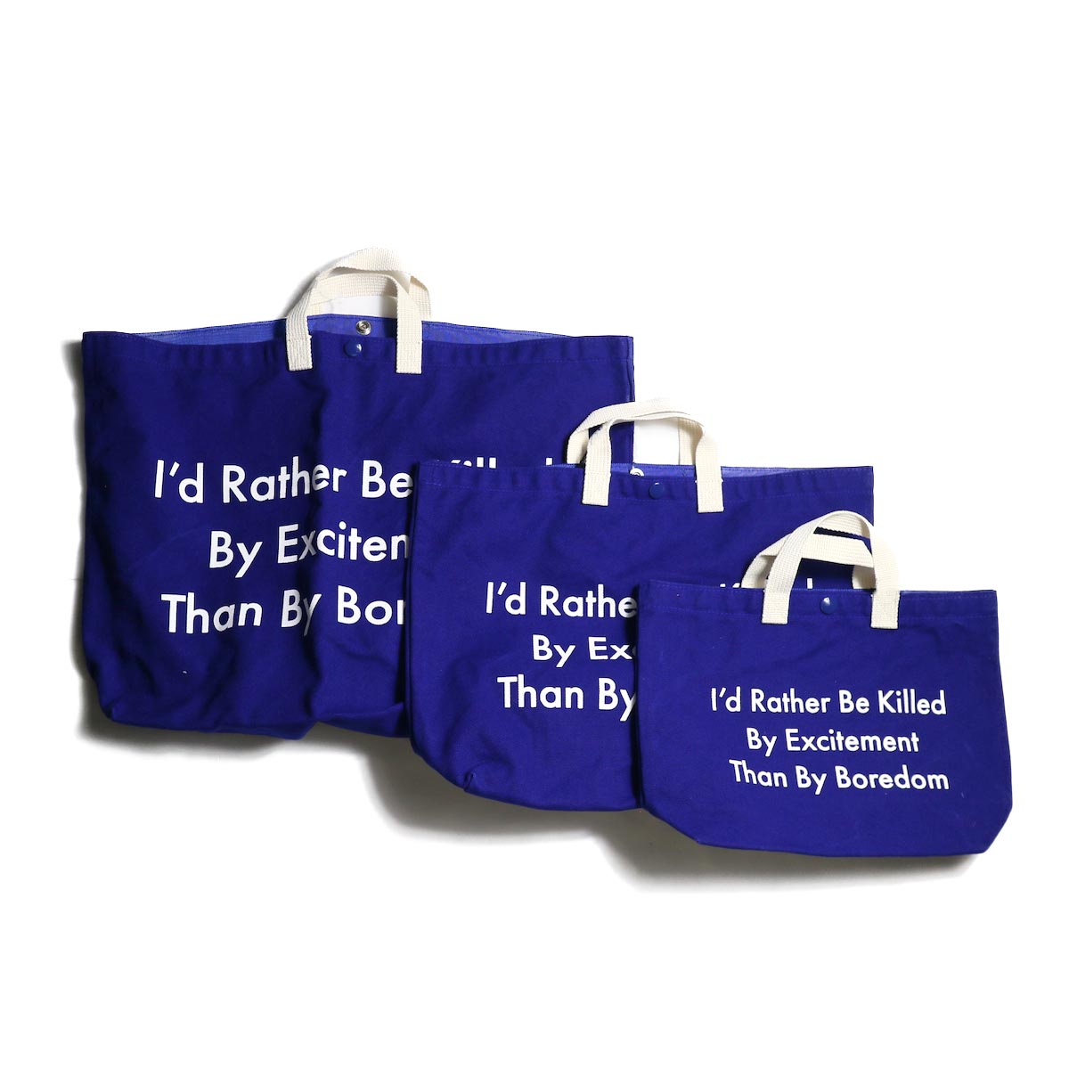 TANGTANG / CANVAS -TOTE (Blue)