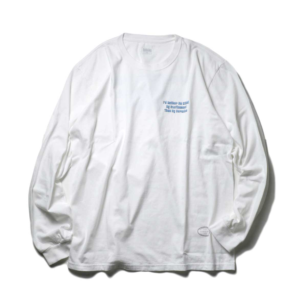 TANGTANG / ARCHIVE -SLOGAN- (White)正面