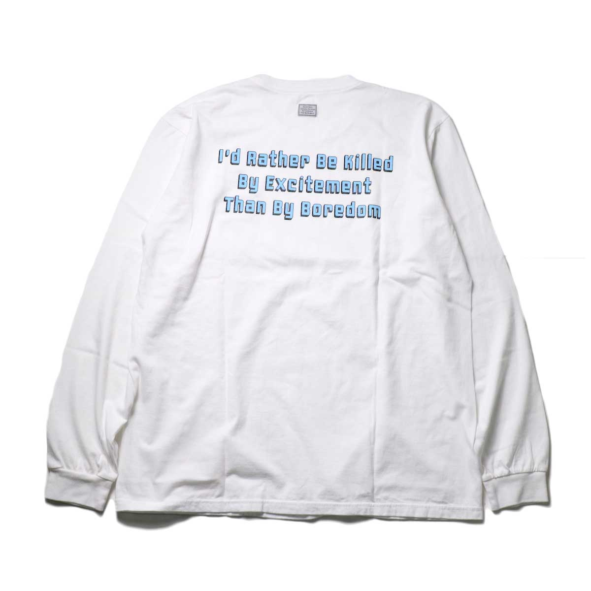 TANGTANG / ARCHIVE -SLOGAN- (White)背面