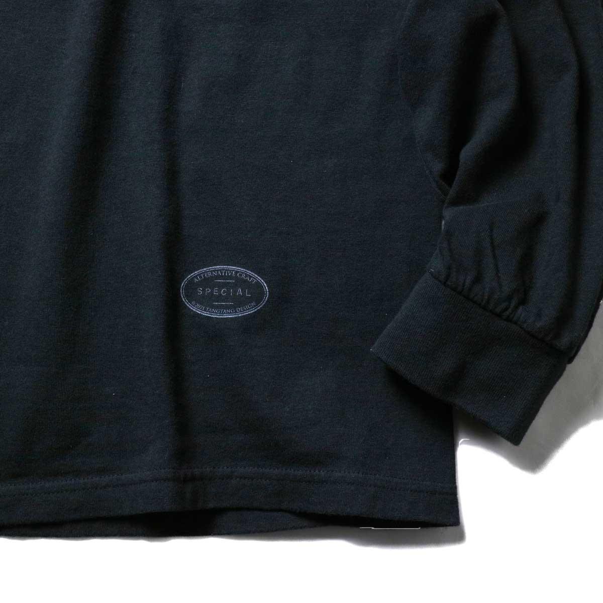 TANGTANG / ARCHIVE -SLOGAN- (Black)裾