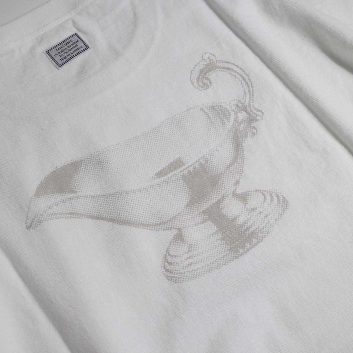 TANGTANG / CURRY -HANDWRITE (White)バックプリント