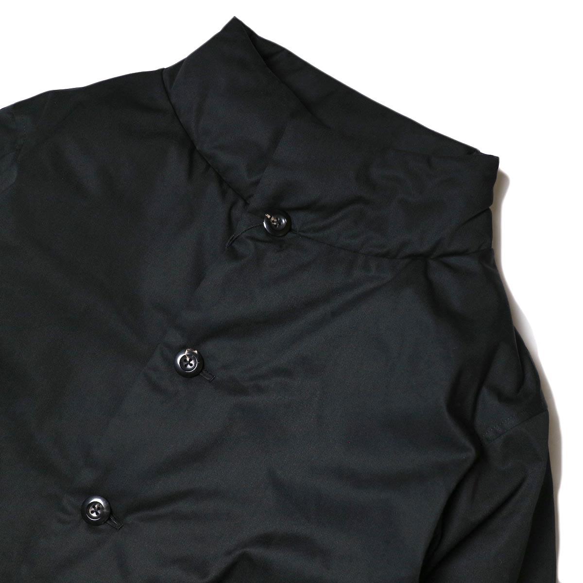 THE LOFT LABO / NARDY (Black) スタンドカラー・ボタン