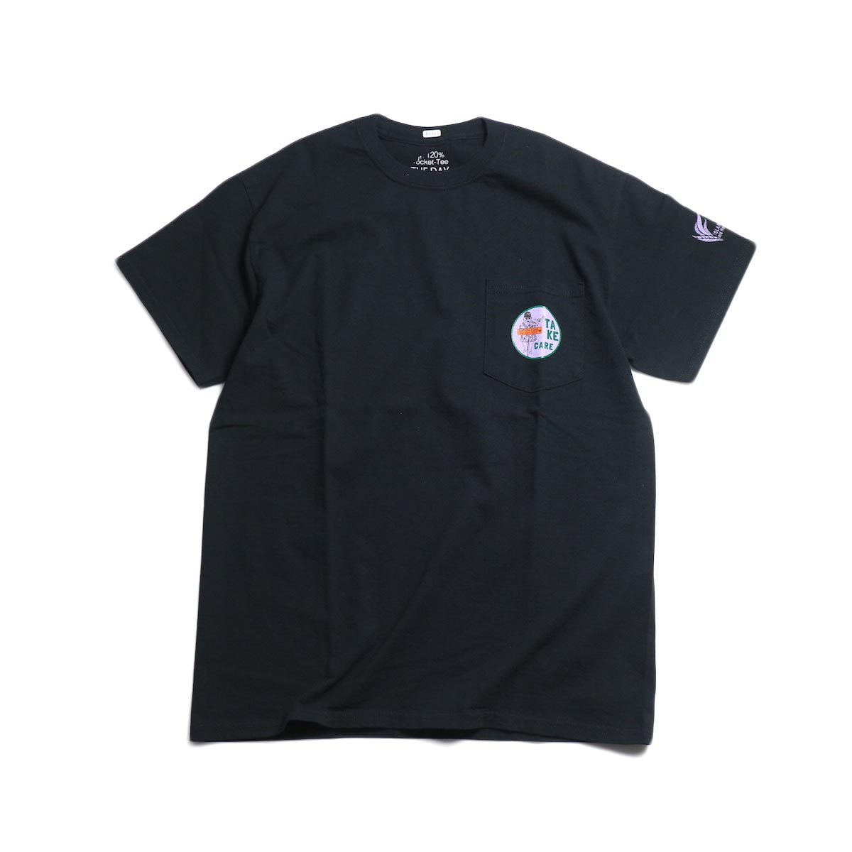 THE DAY ON THE BEACH / Take Care Tee -Black