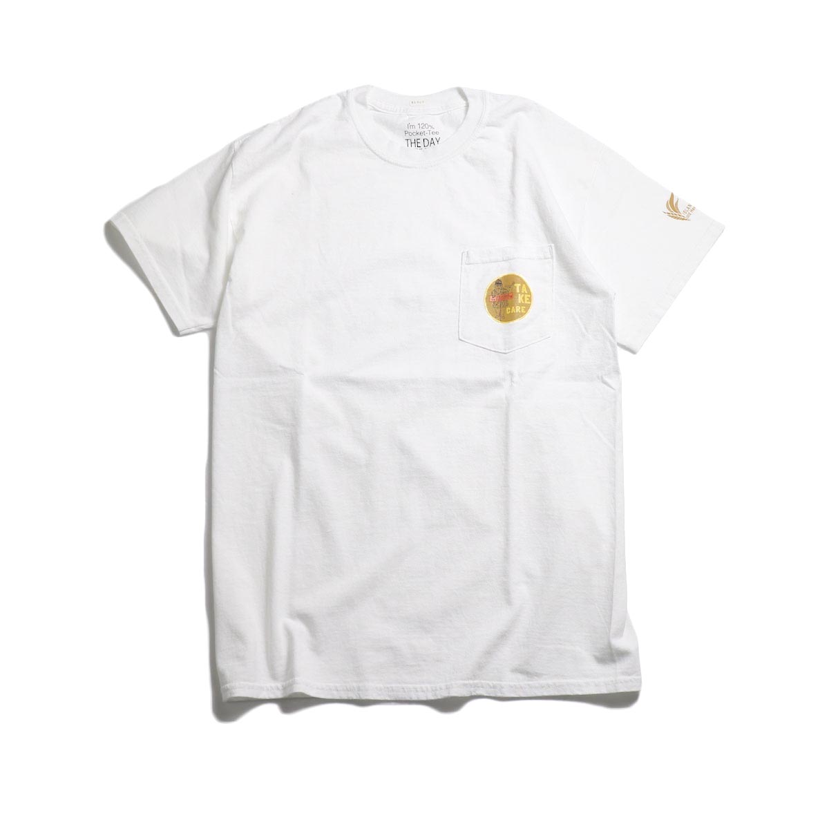 THE DAY ON THE BEACH / Take Care Tee -White