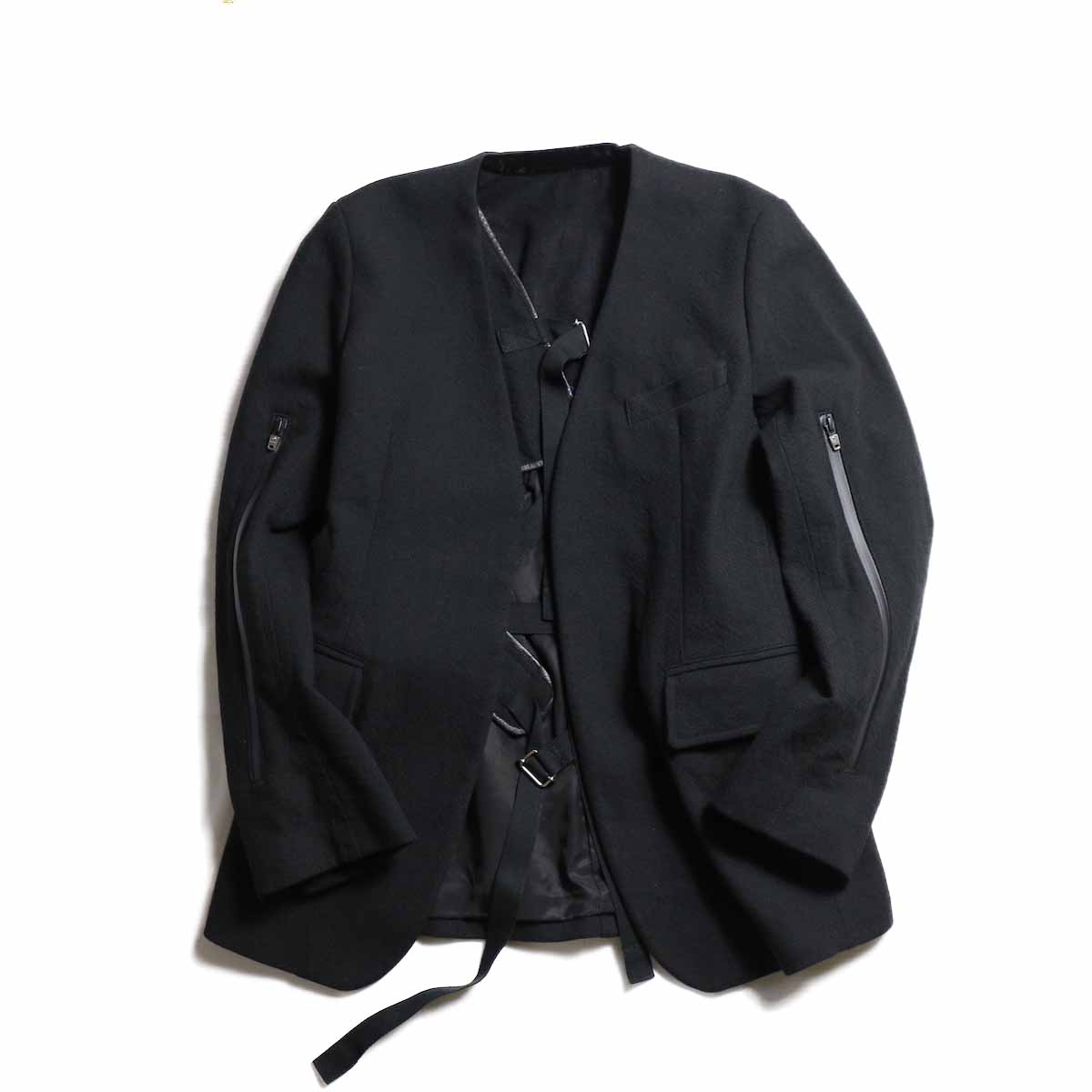 TheSoloist / sj.0003aAW18 collarless jacket.