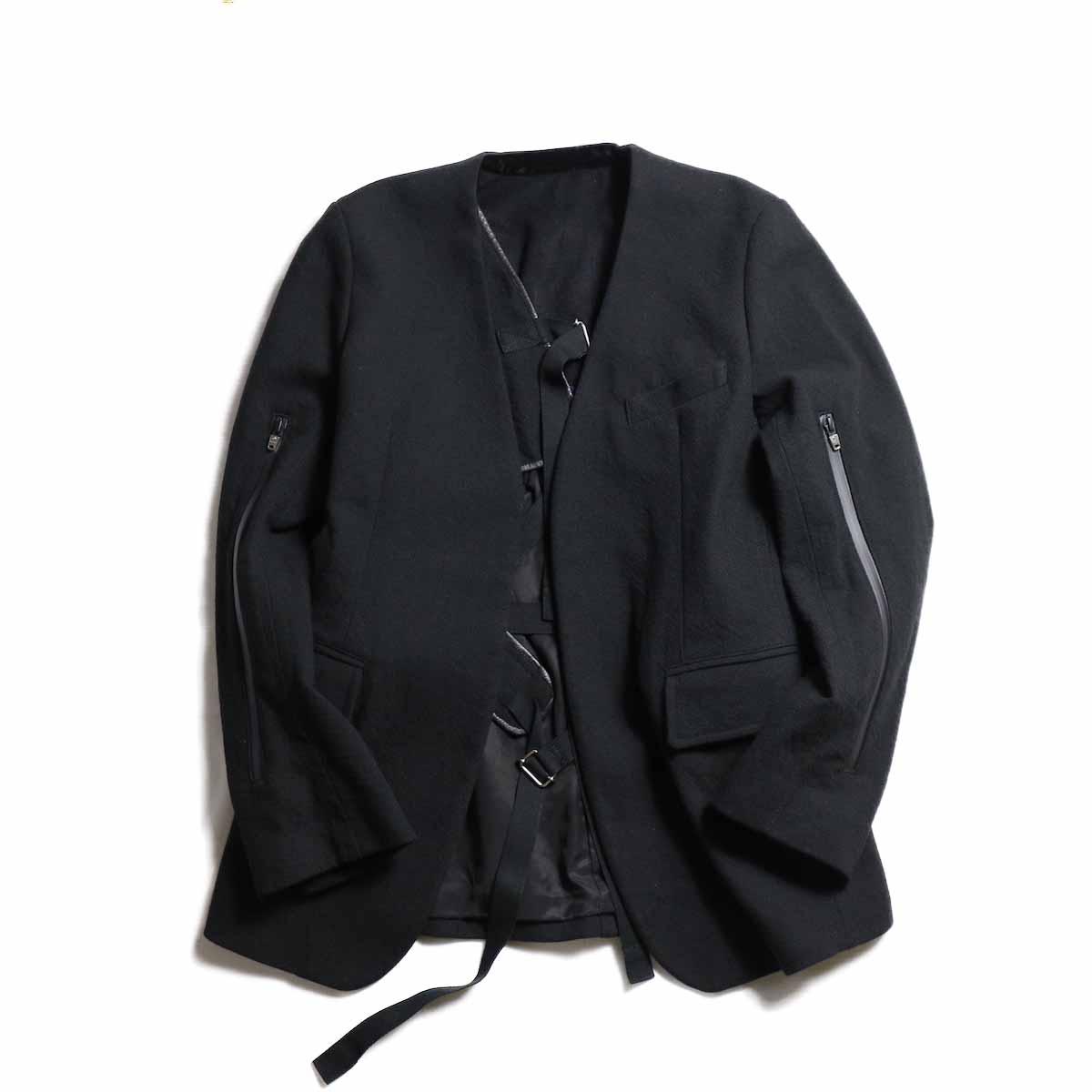TheSoloist / sj.0003aAW18 collarless jacket.