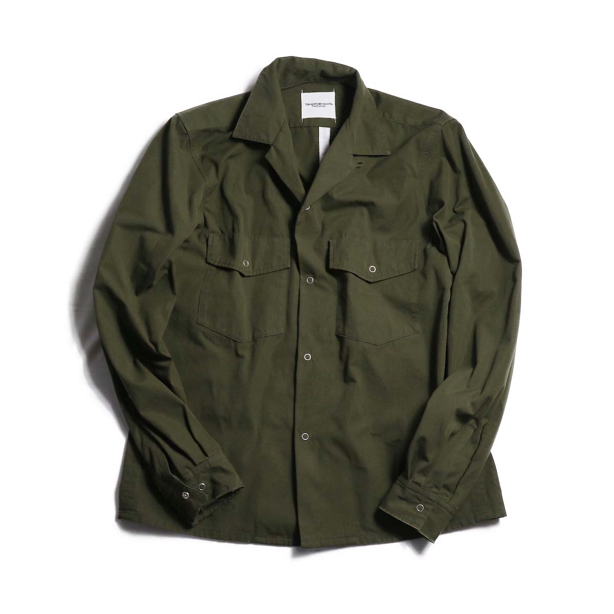 TheSoloist / sws.0010AW18 fatigue shirt.