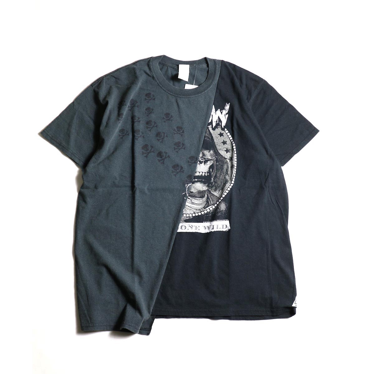 """THRIFTY LOOK / Thrifty Twins """"Black"""" Tee (C)正面"""