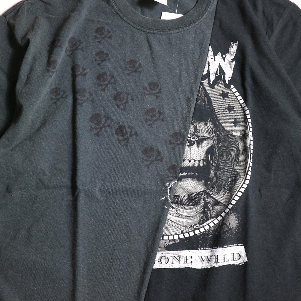 """THRIFTY LOOK / Thrifty Twins """"Black"""" Tee (C)プリント"""