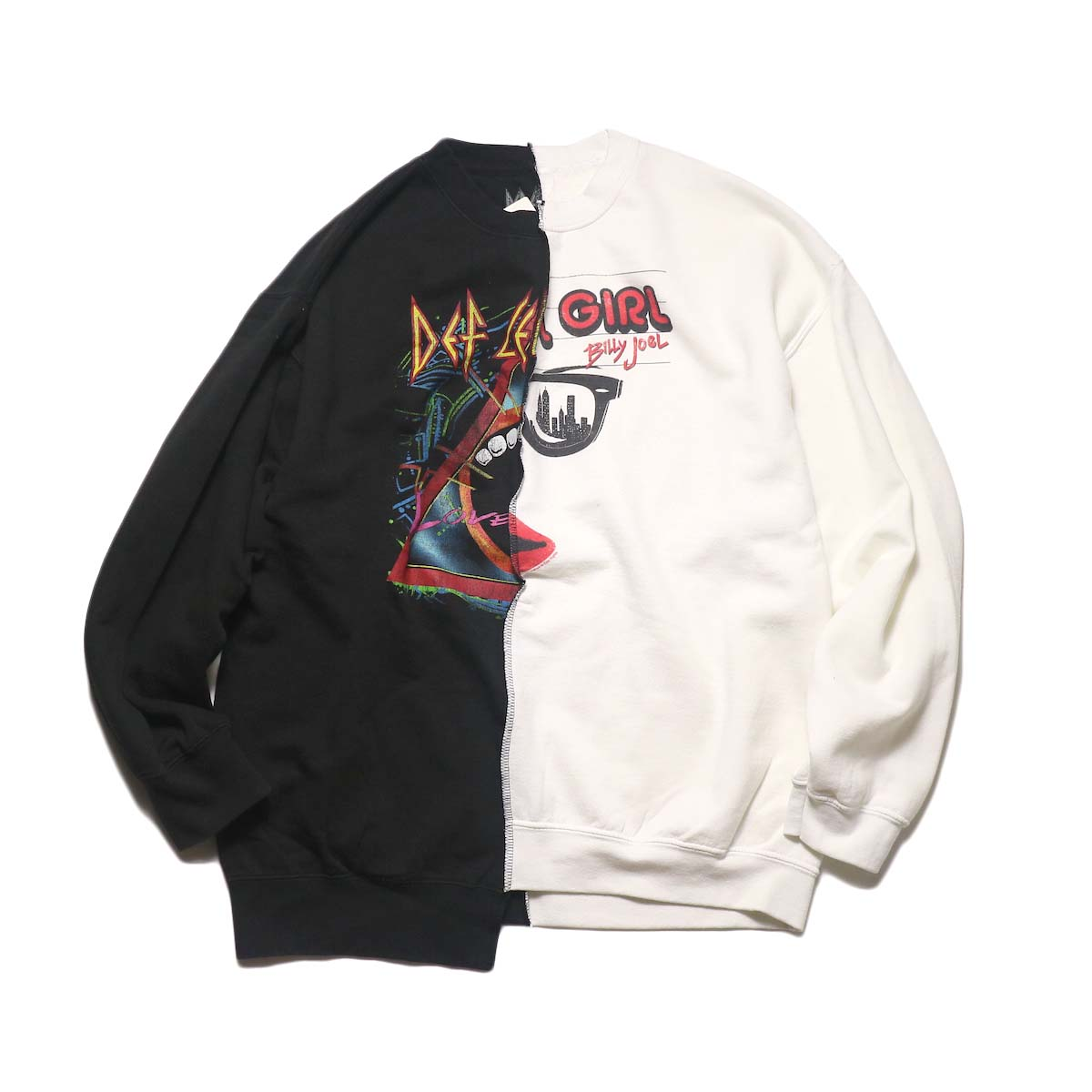 THRIFTY LOOK / Twins Crew Sweat (A)