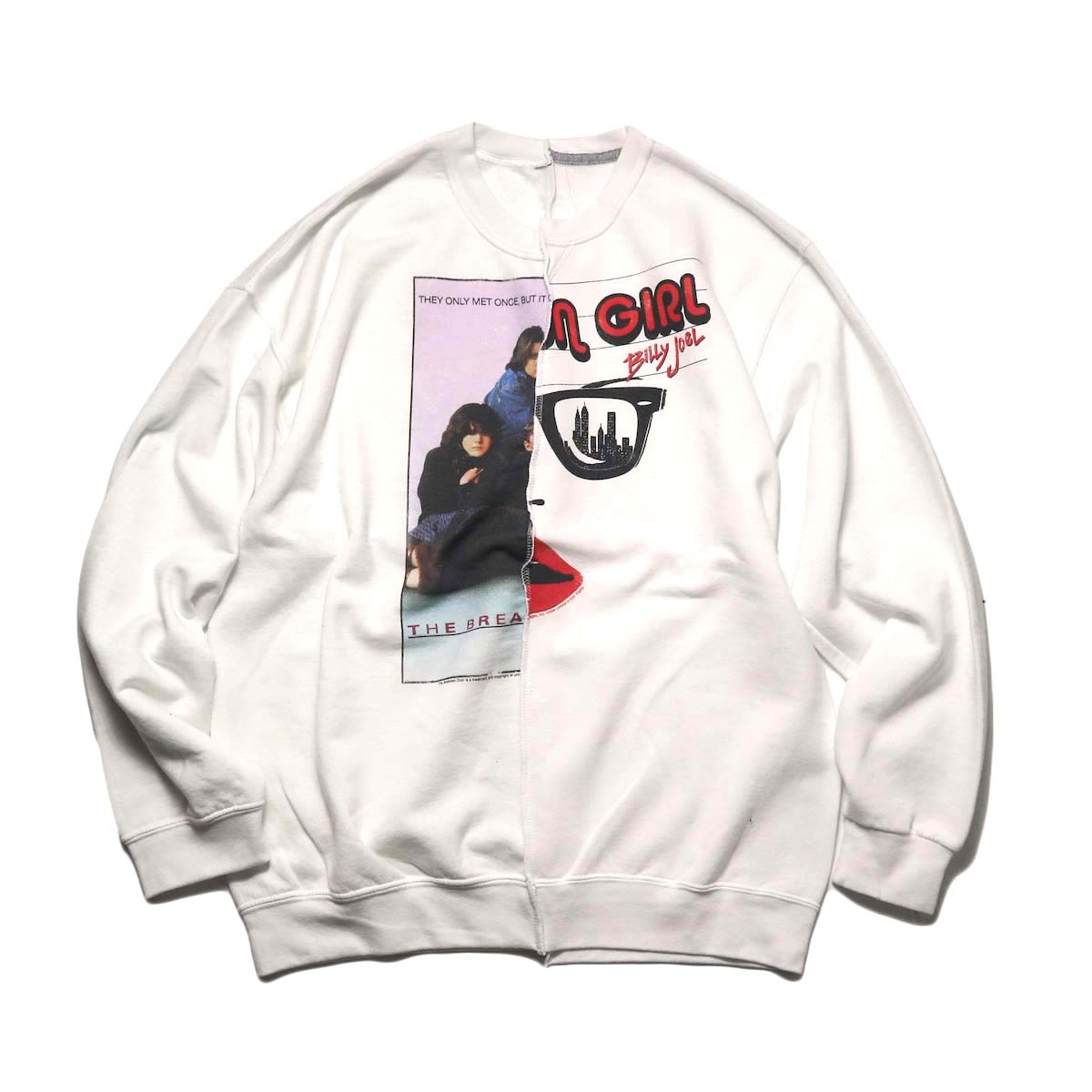 THRIFTY LOOK / Twins Crew Sweat (D)