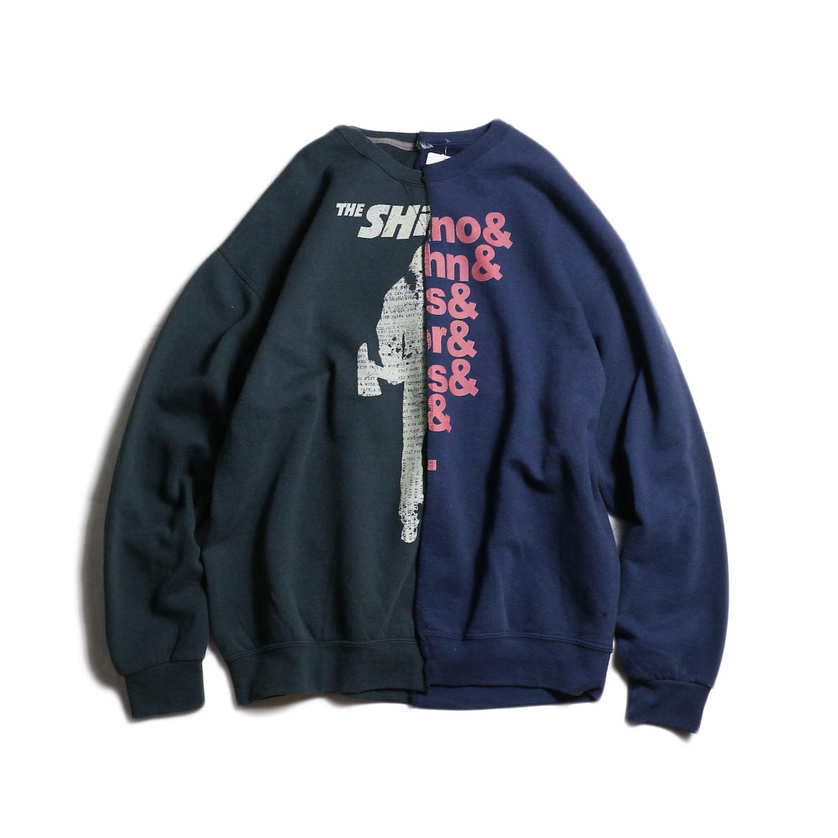 THRIFTY LOOK / Twins Crew Sweat (D) THE POLICE × LA GUNS