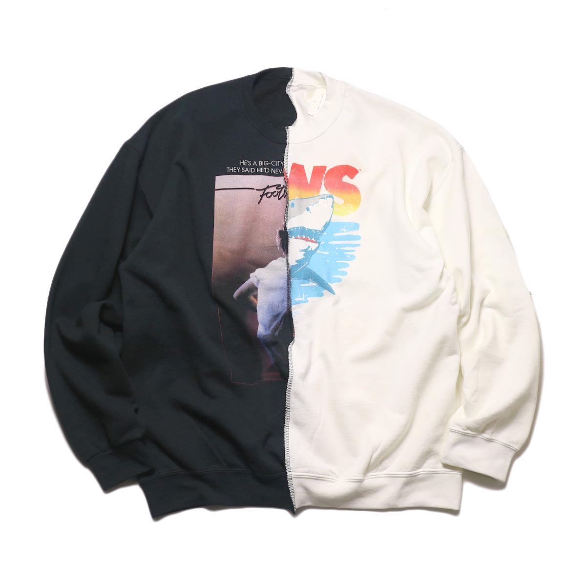 THRIFTY LOOK / Twins Crew Sweat (G)