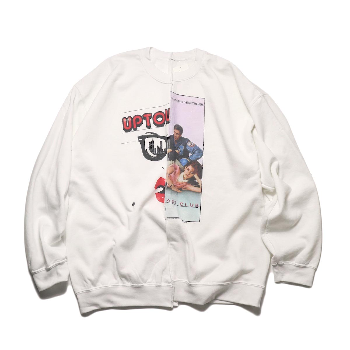 THRIFTY LOOK / Twins Crew Sweat (H)