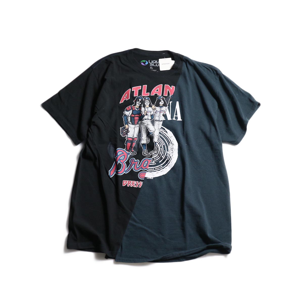 THRIFTY LOOK / Twins Mix Tee (B) 正面