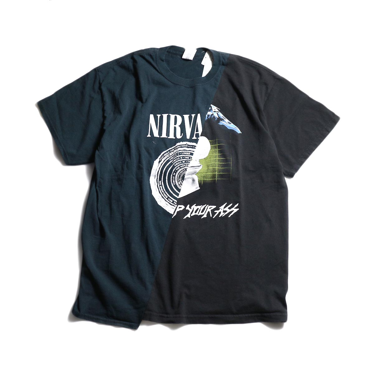 THRIFTY LOOK / Twins Mix Tee (A) 正面