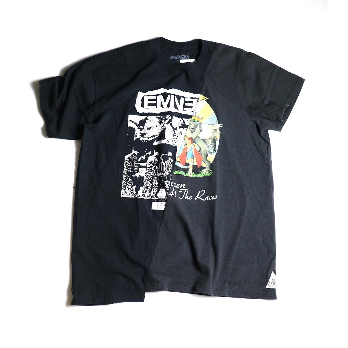 """THRIFTY LOOK / Thrifty Twins """"Black"""" Tee (C)"""