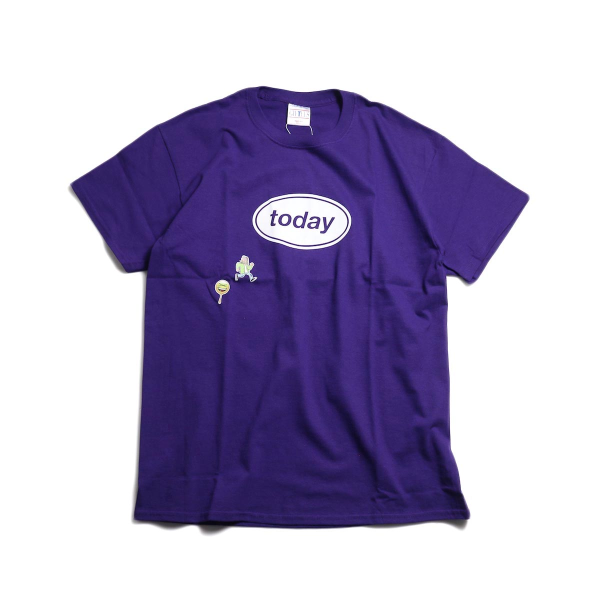 TODAY edition / TODAY SS TEE -PURPLE