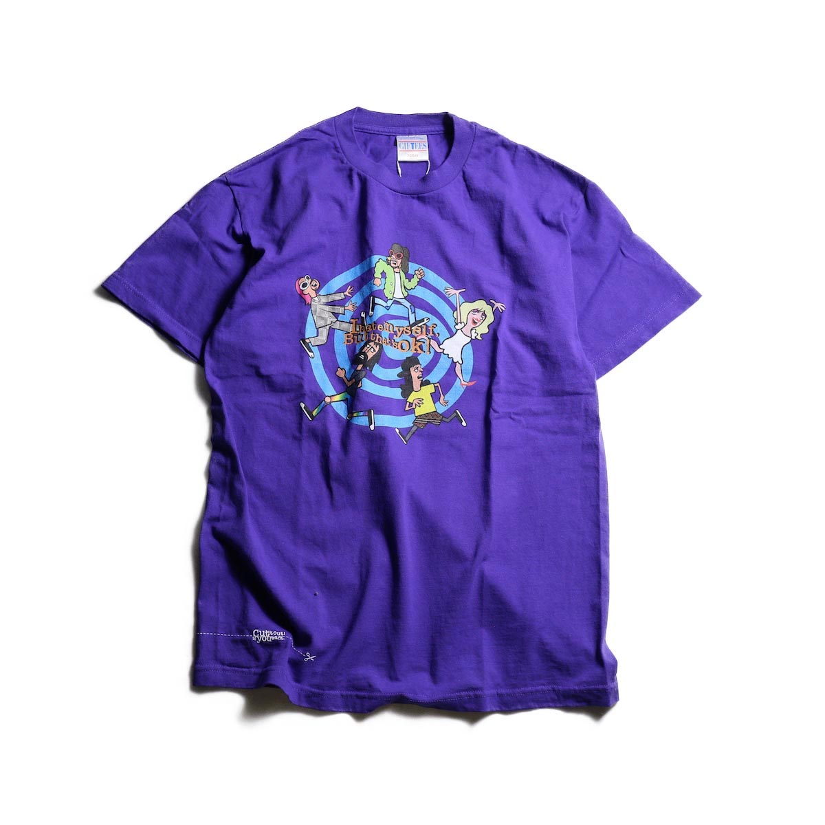 TODAY edition / RUNNING SS TEE -Purple 正面