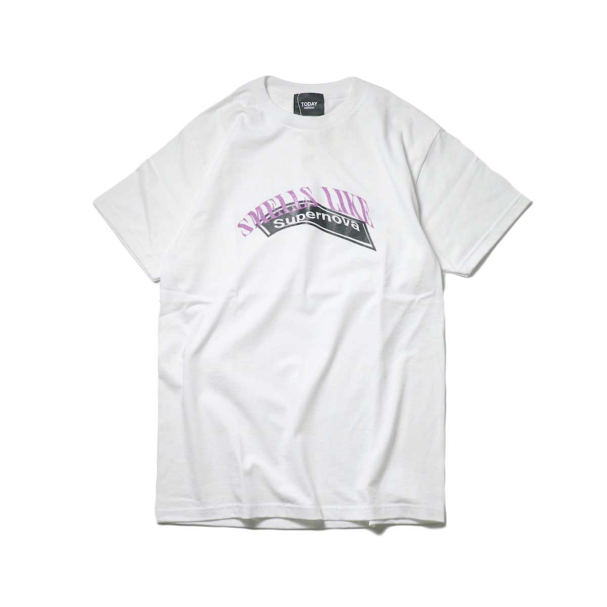 TODAY edition / 90s Boot #1 SS Tee (White)