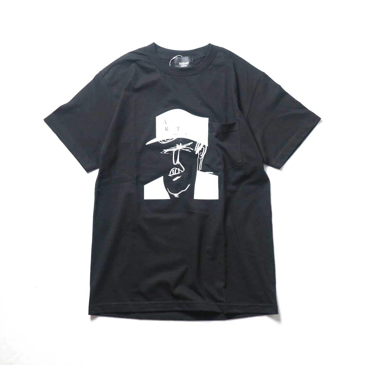 TODAY edition / Caricature SS Tee (Black)