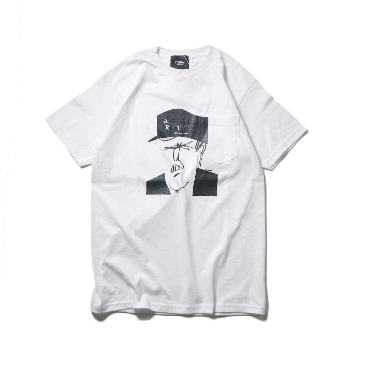 TODAY edition / Caricature SS Tee (White)