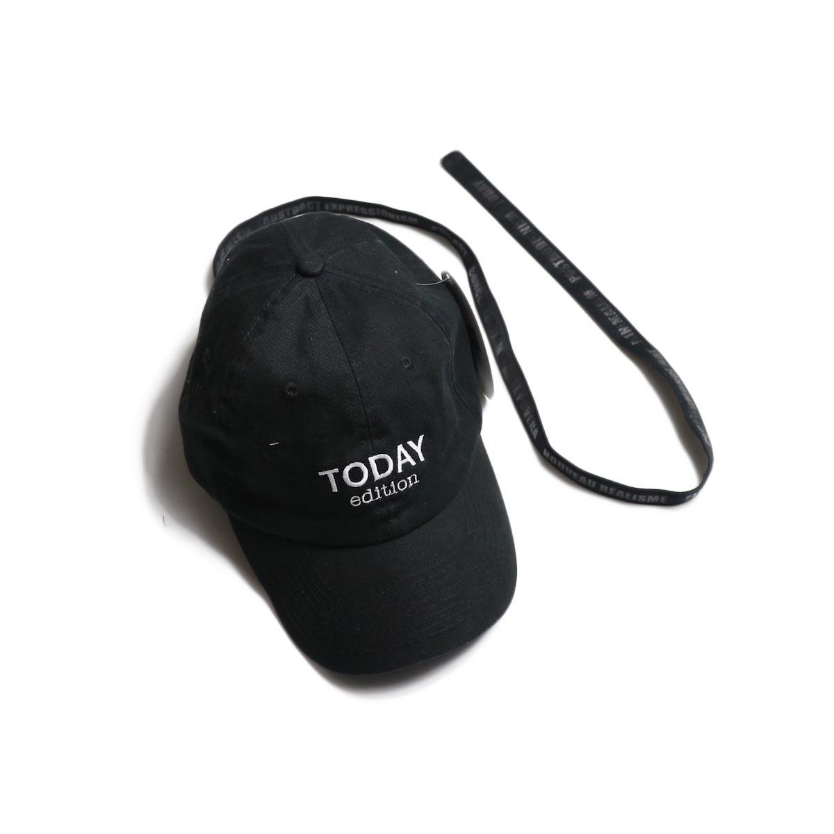 TODAY edition / CAP -Black