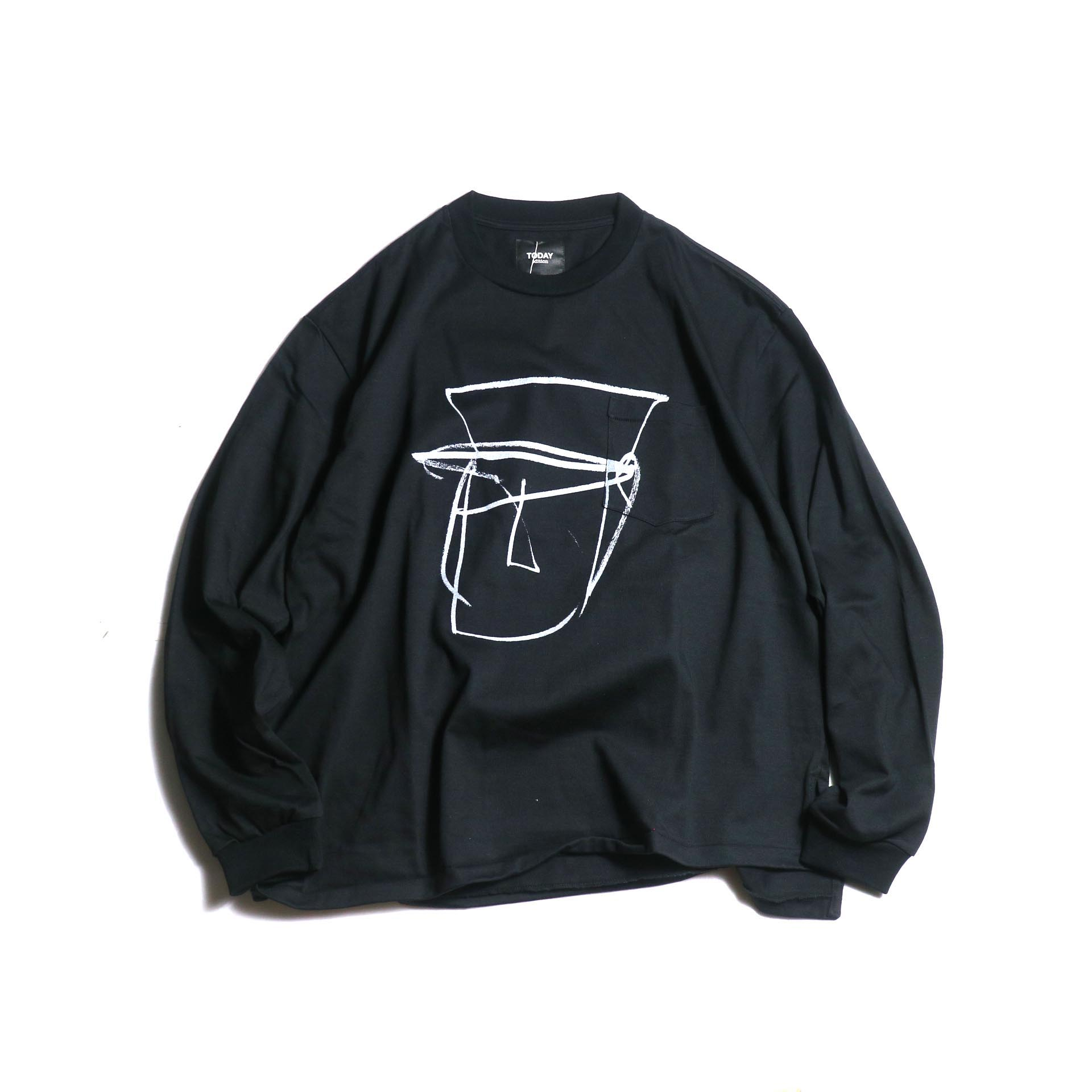 TODAY edition / Drawing Tee #1 (Black)