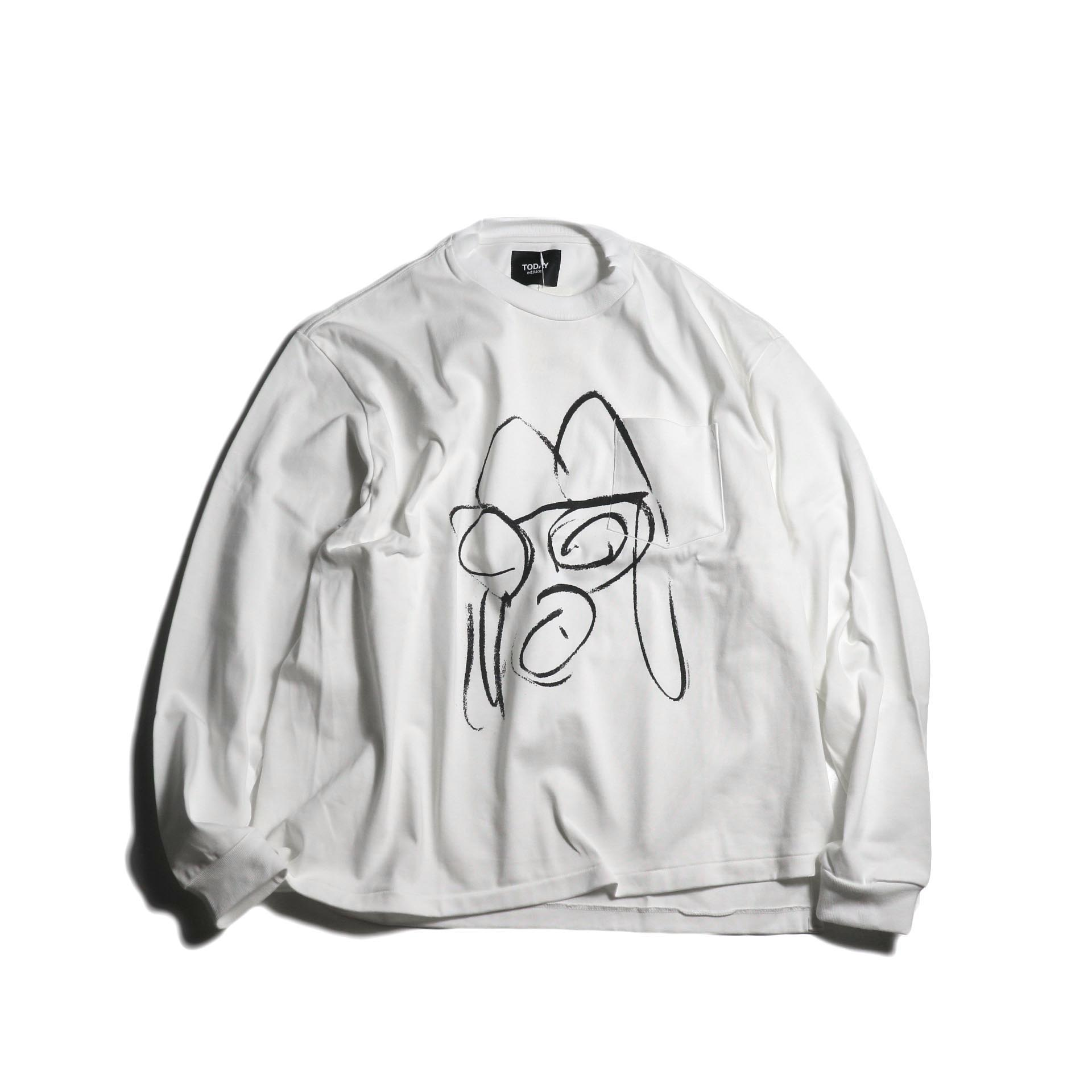 TODAY edition / Drawing Tee #2 (White)