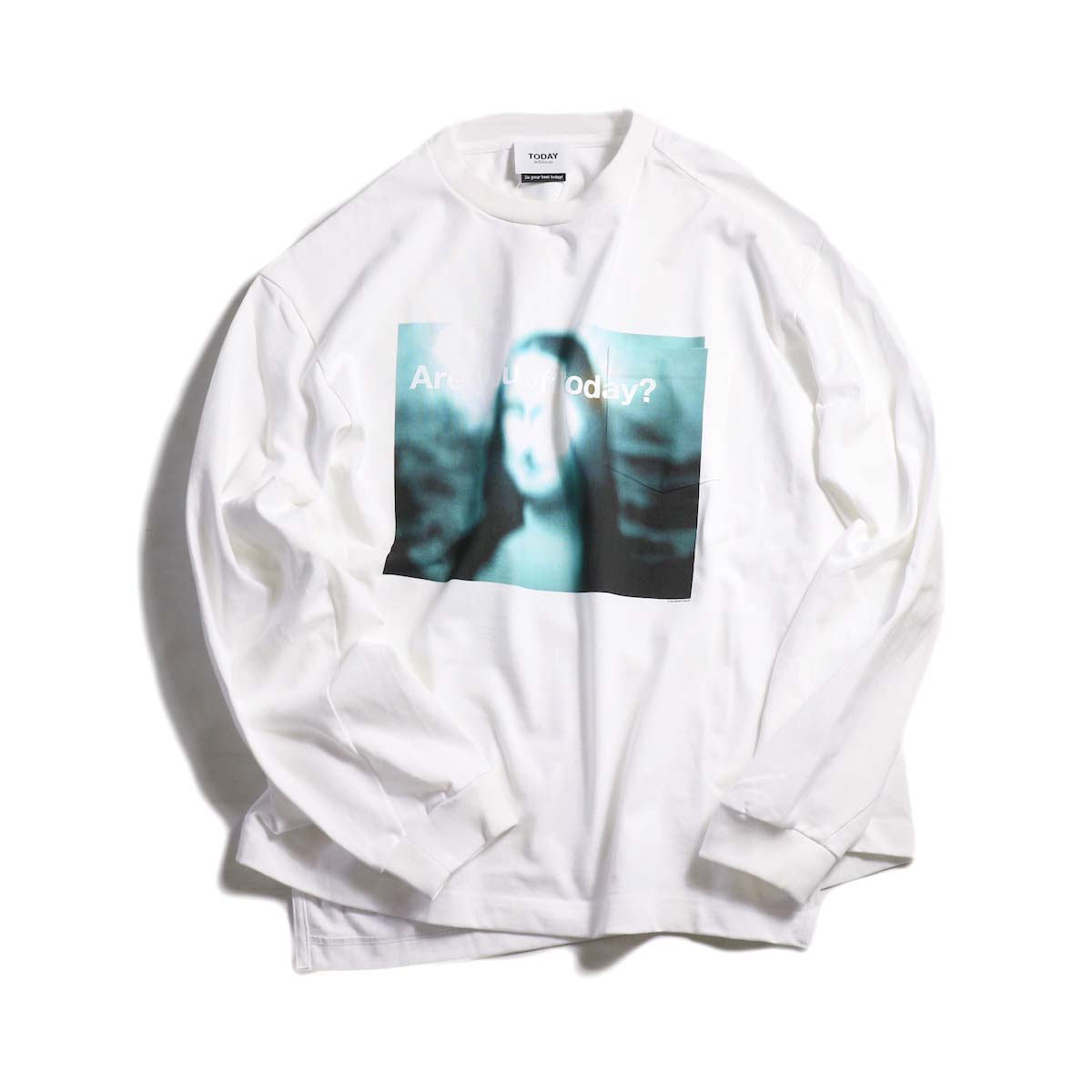 TODAY edition / ARE YOU OFF TODAY? Pocket tee photo #1 -White